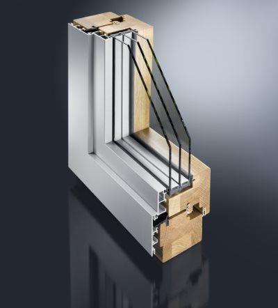 Holz- Aluminiumfenster Mira Contur
