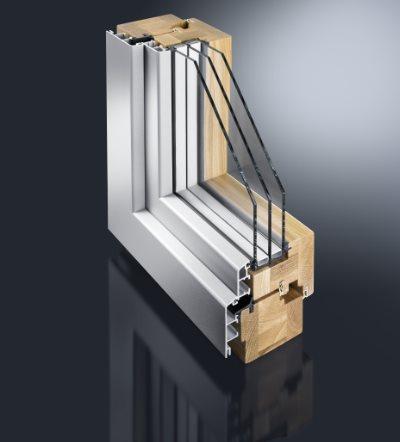 Holz- Aluminiumfenster Mira